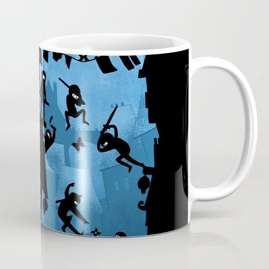 Ninja Kick Ass Clash Mug