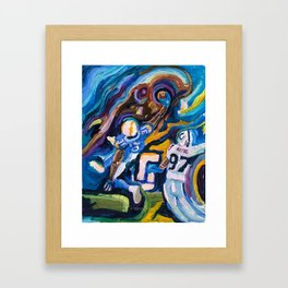 Chargers Art 1 Framed Art Print