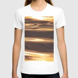 Water Sunset Pattern T-shirt