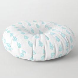 Happy Briolette Gems Floor Pillow