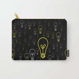 Numerous drawings of incandescent lamps type cartoons Carry-All Pouch