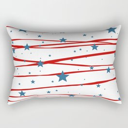 Stars and Stripes Rectangular Pillow