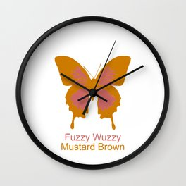 Ulysses Butterfly 12 Wall Clock