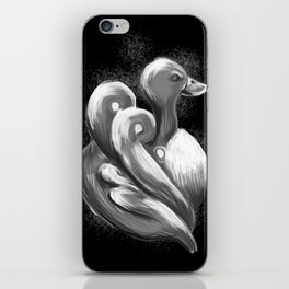 BW Swan - Mazuir Ross iPhone Skin