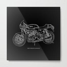 NORTON COMMANDO 961 CAFE RACER. 2011 Metal Print