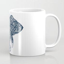 Tribal elephant head illustration Coffee Mug