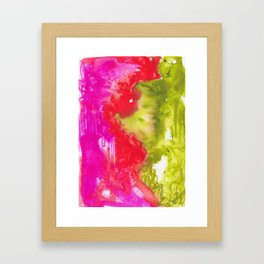 Intuitive - Karla Leigh Wood Framed Art Print