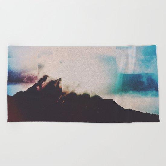Fractions A83 Beach Towel