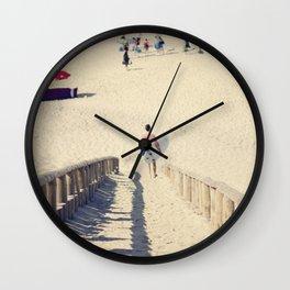 surfing II Wall Clock