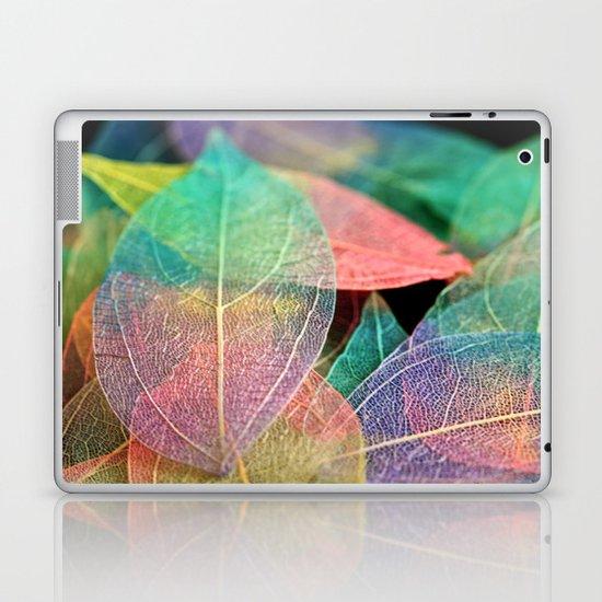 Skeleton Leaves Laptop & iPad Skin