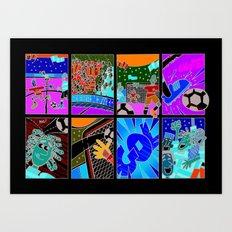 GOL Art Print