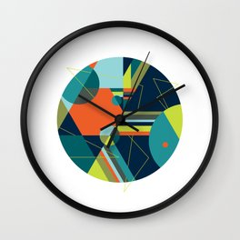A Fraudulent Response on White Wall Clock