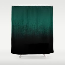 Emerald Ombré Shower Curtain