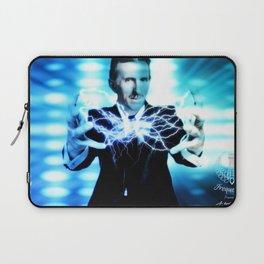 Nikola Tesla Lightning Laptop Sleeve