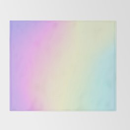 Holographic Texture #1 Throw Blanket