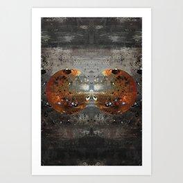A Rusty Start Art Print