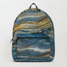 Colorfull stone in section Backpack