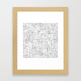 Ambient 77 in B&W 1 Framed Art Print