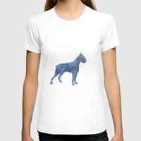 boxer T-shirts featuring Boxer by Carma Zoe