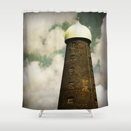 Guinness Brewery Tower Shower Curtain