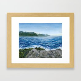 Gros Morne -- Ocean Framed Art Print