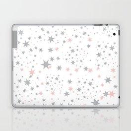 Stars silver and blush Laptop & iPad Skin