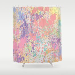 Pastel Colors Shower Curtain
