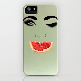 Fruity Smile iPhone Case