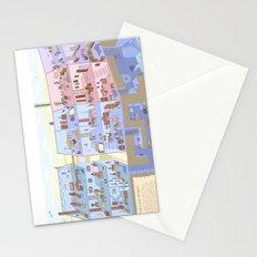 Village Homes Maze Stationery Cards