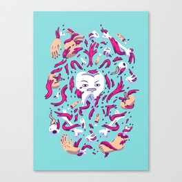 Tooth Guy Canvas Print
