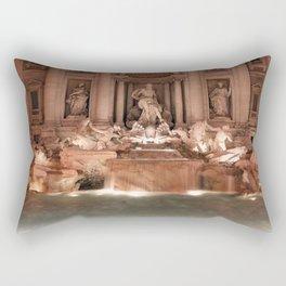 Make a Wish at Trevi Fountain Rectangular Pillow