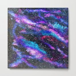 RAINBOW GALAXY Metal Print