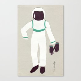 Astronaut Outfit Canvas Print