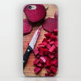 Beet It iPhone Skin