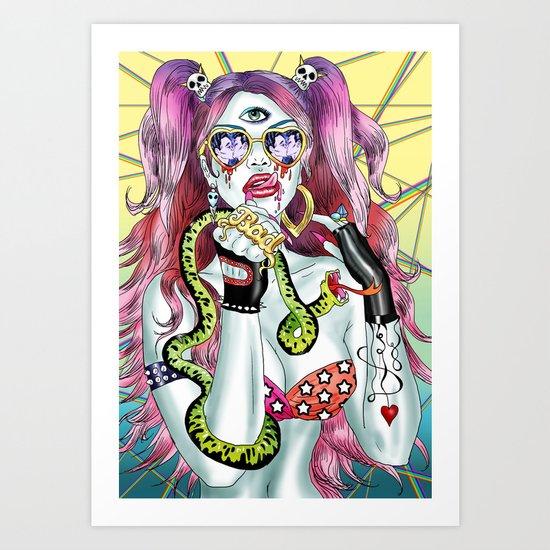 Halcyone Art Print