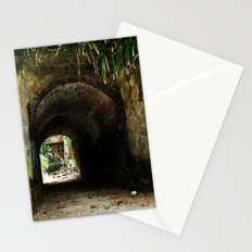 Old tunnel 2 Stationery Cards