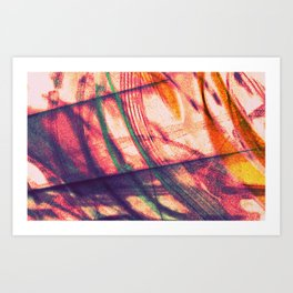 Purple Sands Art Print