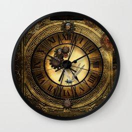 Steampunk design Wall Clock
