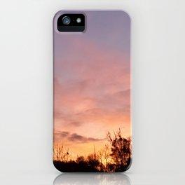 November Sunset in Mariposa iPhone Case