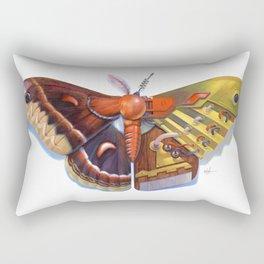 Cecropia Bot Rectangular Pillow
