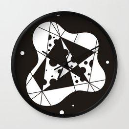 Sclerosis Black Wall Clock