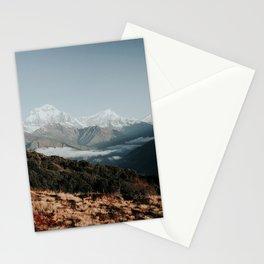 Himalaya Mountain peaks, Nepal Stationery Cards