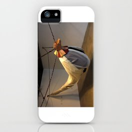 Flying Maiden iPhone Case
