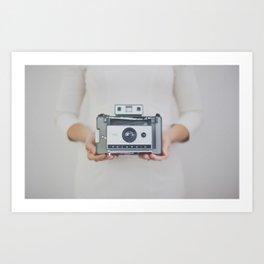 Polaroid Magic Art Print