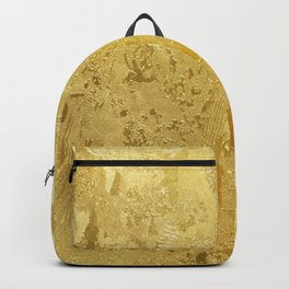 golden vintage Backpack