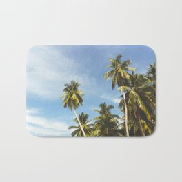 Palms Trees on the San Blas Islands, Panama Bath Mat