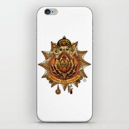 Keep Korma and Curry On iPhone Skin