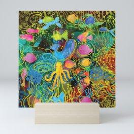 Fish World Mini Art Print