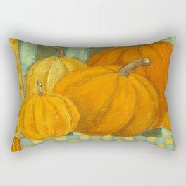 Five Pumpkins Rectangular Pillow