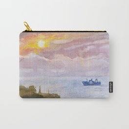 Sunset on the Black Sea Carry-All Pouch